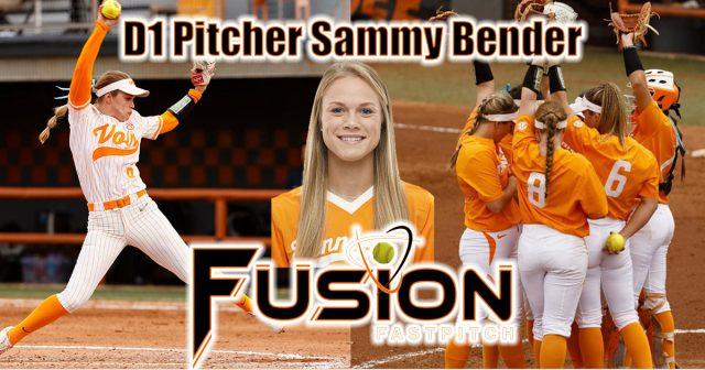 Working with D1 Pitcher Samantha Bender